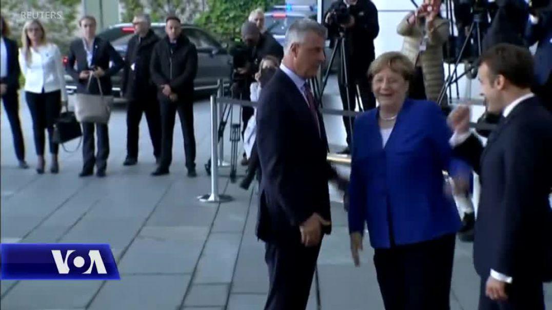 Ndasia Thaçi-Haradinaj reflektohet përballë Merkel