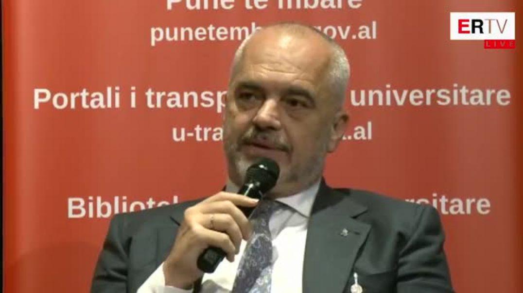 Kryeministri Edi Rama kercenon me shkarkim Rektorin e UT, Mynyr Koni
