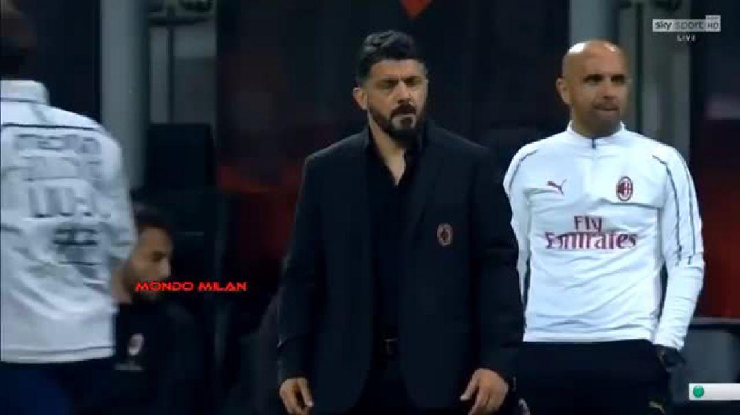 Tension te Milani, Bakajoko sqaron sherrin me Gatuzon