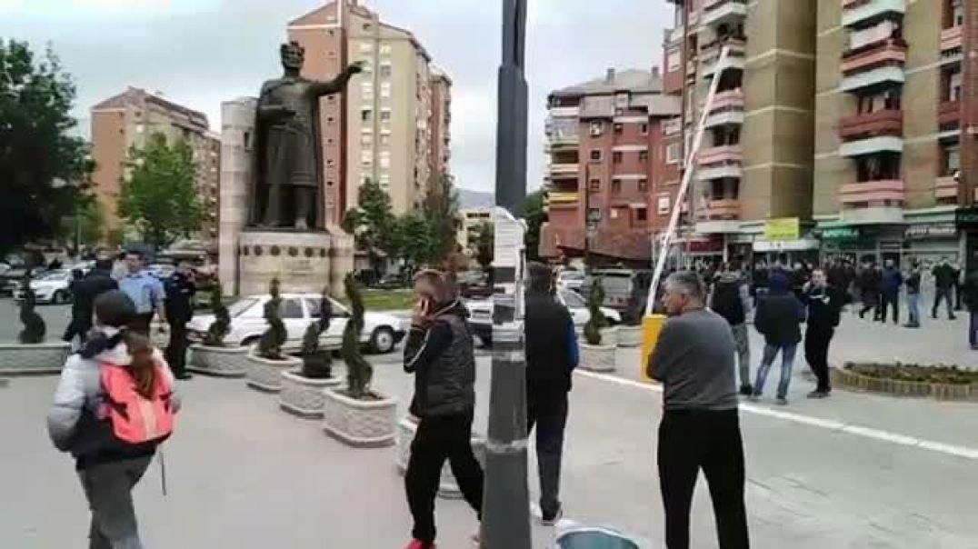 Sirenat serbe në Veri të Mitrovicës