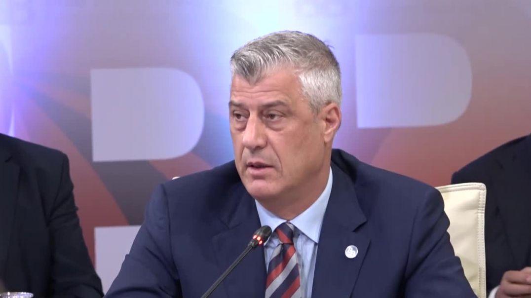 Fjala e Presidentit te Kosoves, Hashim Thaci gjate samitit Brdo-Brijun