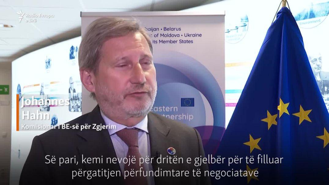 Negociatat, Hahn optimist: Shpresojmë para vjeshtës
