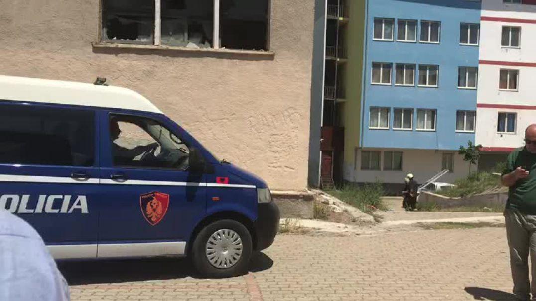 Policia ne Kukes largohet nga KZAZ.mp4