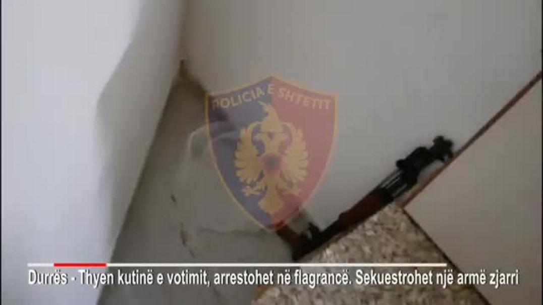 Policia arreston një shtetas në fshatin Sukth, hyri me armë në qendër votimi