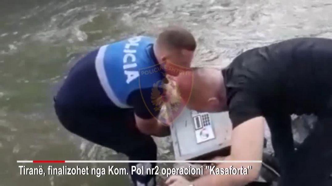 Finalizohet operacioni i vjedhjeve në Tiranë, sekuestrohen sende dhe  vlera monetare