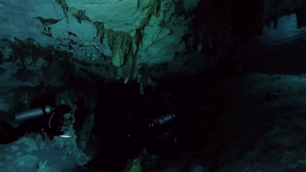 Aventura në shpellat nënujore të Meksikës