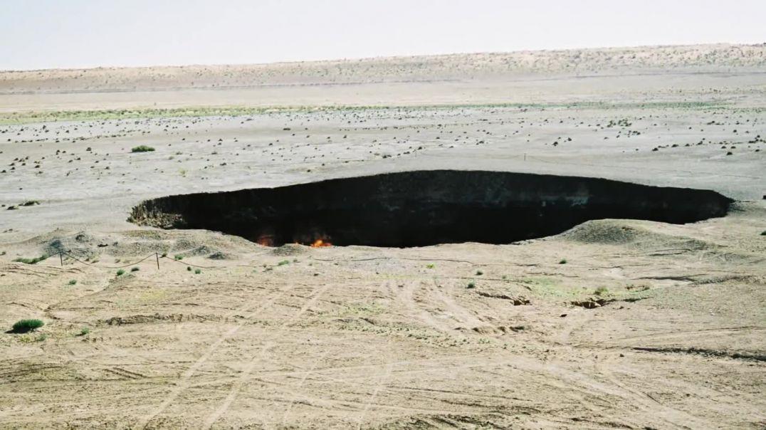 Porta e Ferrit në Turkmenistan, digjet prej 40 vitesh