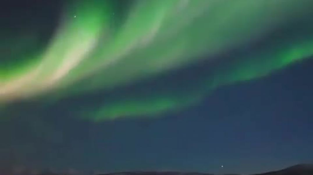 Pamjet mbresëlënëse nga Aurora në Norvegji