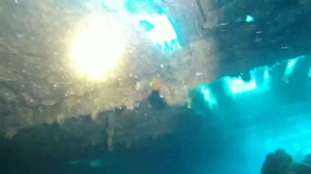 Renea stërvitje nën ujë eksploron anijen e Luftës së Dytë Botërore