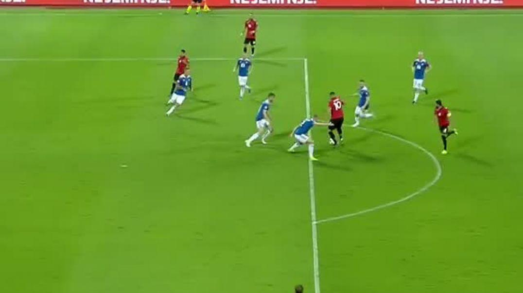 Pasim brilant, Uefa vlerëson asistin e Rei Manaj kundër Islandës