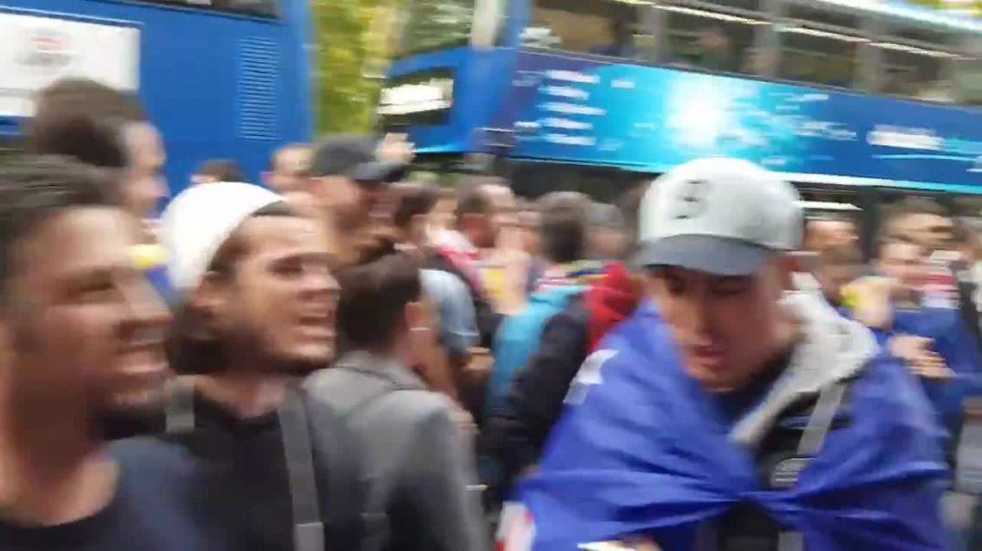 """""""O sa mirë me qenë shqiptarë o hej"""", dardanët ndezin Anglinë (VIDEO)"""