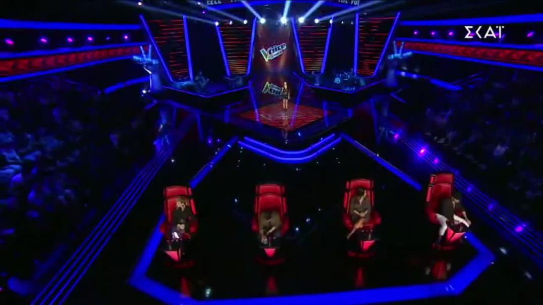 """Këngëtarja ukrainase elektrizon skenën e """"The Voice of Greece"""" me këngë shqiptare"""