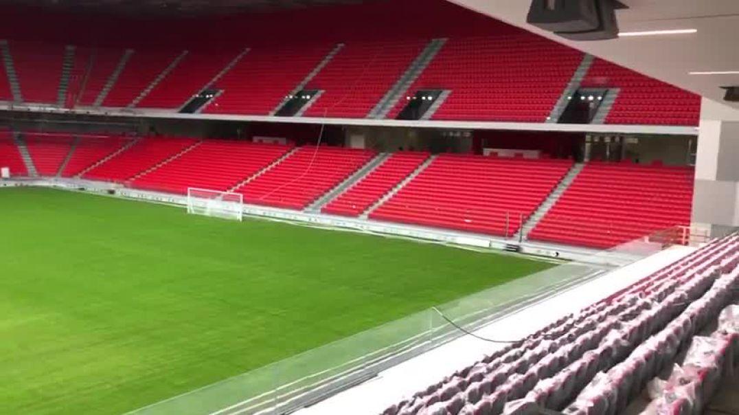 """Rama i tregon UEFA-s se """"Arena"""" është gati"""