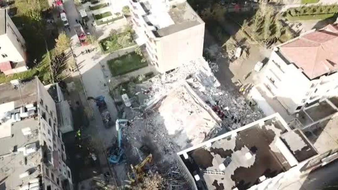Pamje me dron, vazhdojnë misionet e kërkim shpëtimit në Durrës