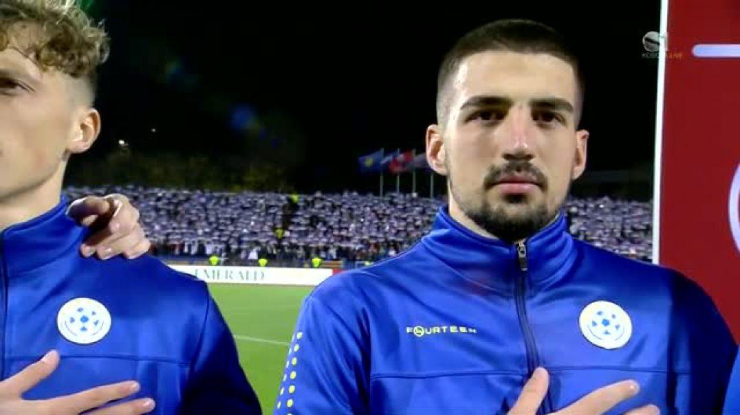 Shkëlzen Doli luan Himin e Kosovës para ndeshjes me Anglinë
