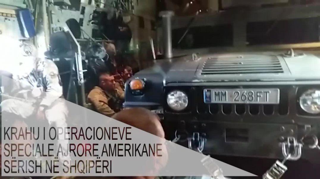 Transportuesi i operacioneve speciale ushtarake amerikane ulet në Kuçovë