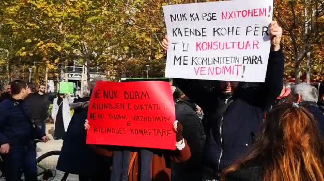 Protesta e gazetarëve