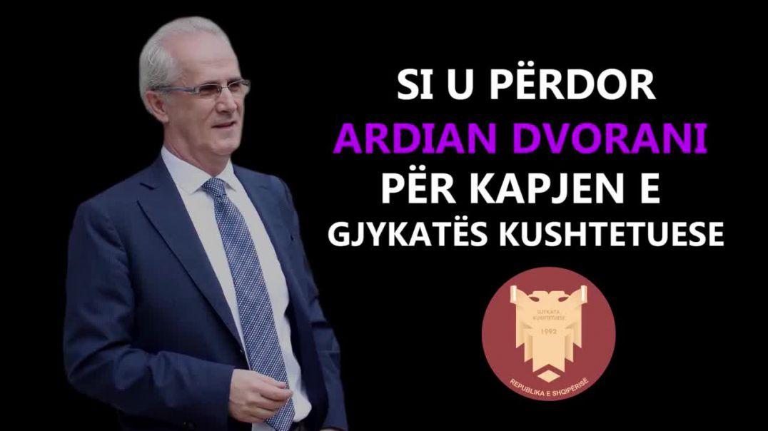 Presidenti Meta publikon videon kundër Ardian Dvoranit