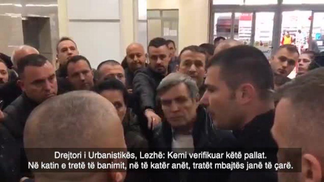Bashkia e Lezhës përplaset me ministrin Lleshaj për pallatin 12-katësh