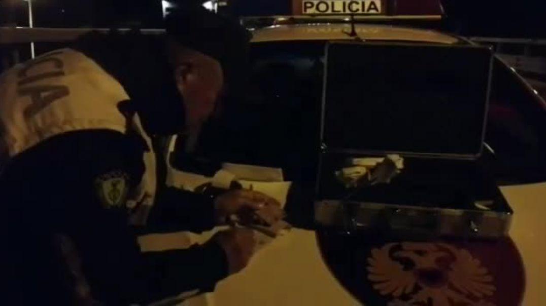 """""""Prita"""" e Policisë Rrugore, me radar tek mbikalimet në rrugën Tiranë-Durrës"""