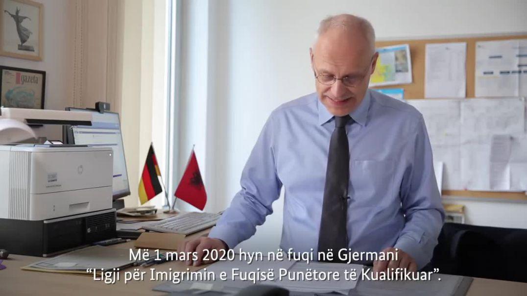 Ligji i ri, Ambasadori Zingraf shpjegon procedurat për të punuar në Gjermani