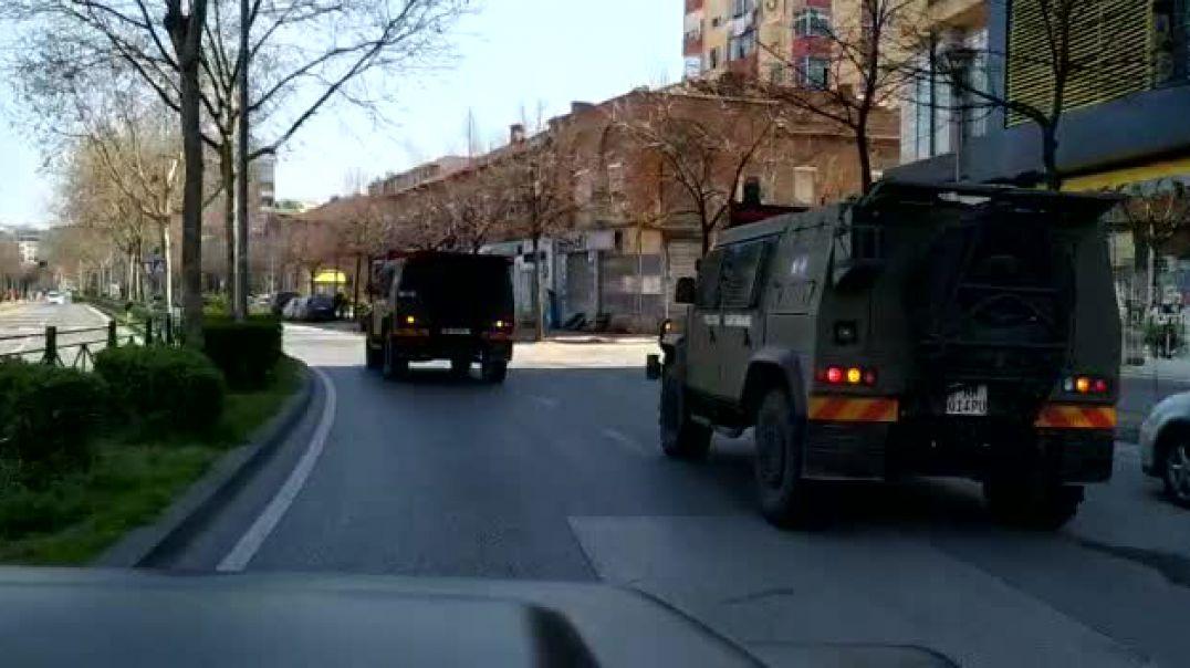 Ushtria del ne rruge
