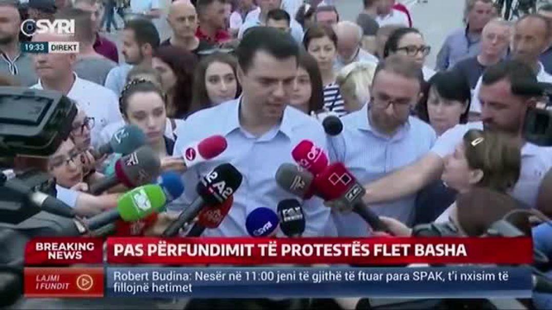 """""""Teatri"""", Rama sfidon Bashën me zgjedhje, kreu i PD: Humbi besimi"""