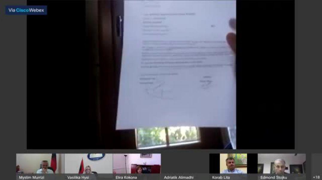 Nisma e opozitës për ndryshimin e sistemit, akuza për falsifikim të firmave të deputetëve
