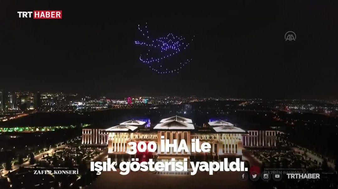 Erdogani rikthen siluetën e Ataturkut mbi pallatin Presidencial