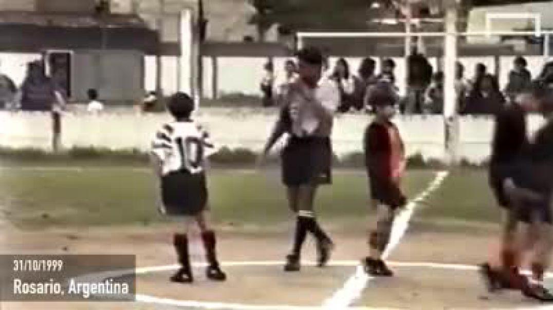 Kur Messi shkëlqente edhe në mes të llucës