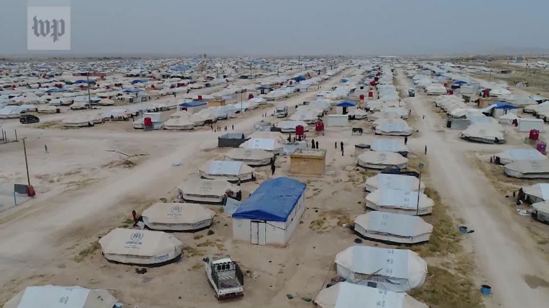 Të uritur e mes kaosit, çfarë ka mbetur në kampin-burg të Al Holit