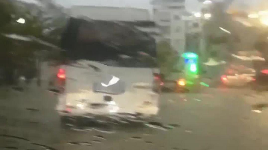 Reshjet, përmbytet Durrësi