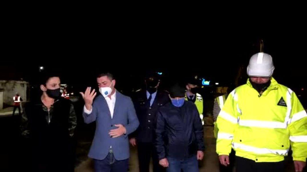Shqiponja e bllokuar, policia: Përdorni rrugën e Ndroqit dhe të Elbasanit për të hyrë në Tiranë