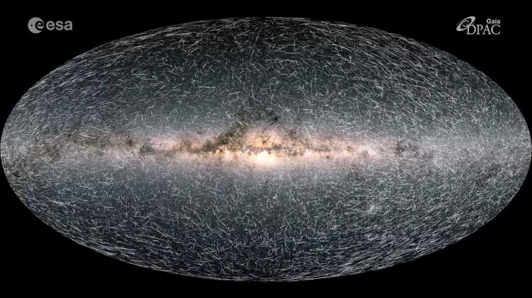 """Harta 3D e """"Rrugës së Qumështit"""", Toka po shkon drejt një Vrime të Zezë"""