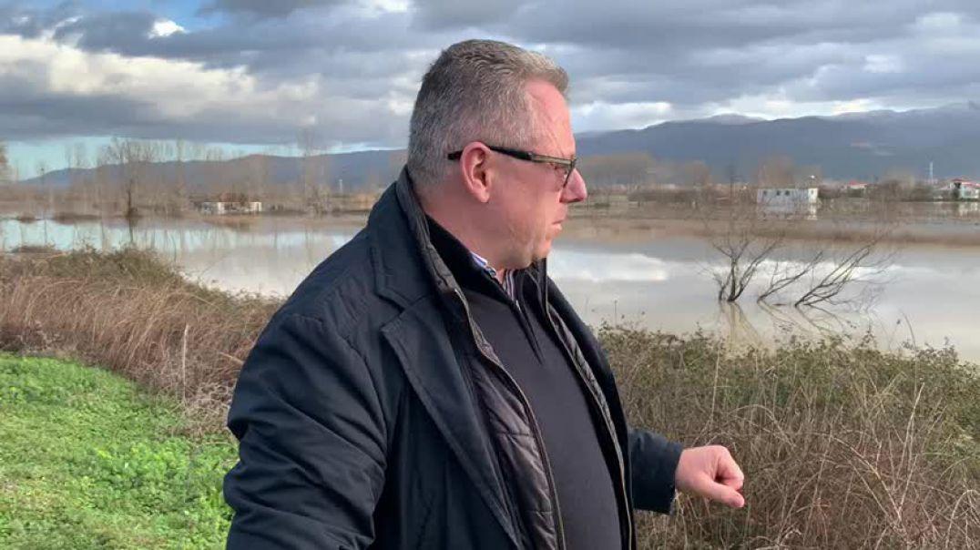 Lumi Ishëm del nga shtrati, përmbyt tre fshatra