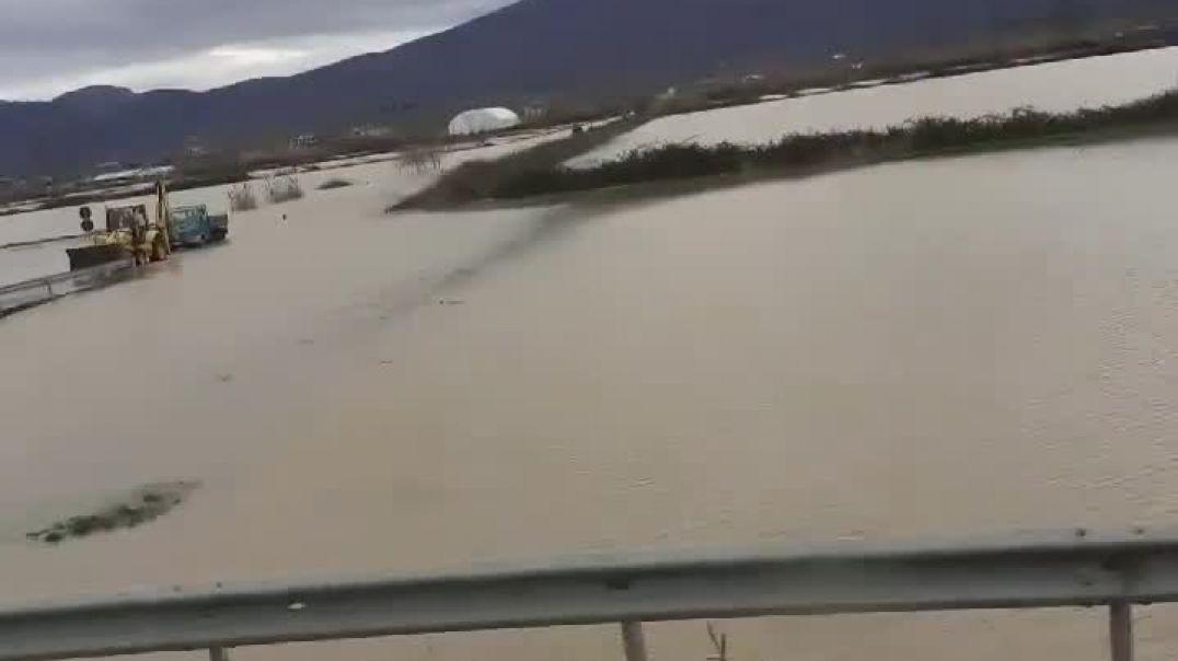 permbytje superstrada Lezhe-Shkoder, fshati Blinisht