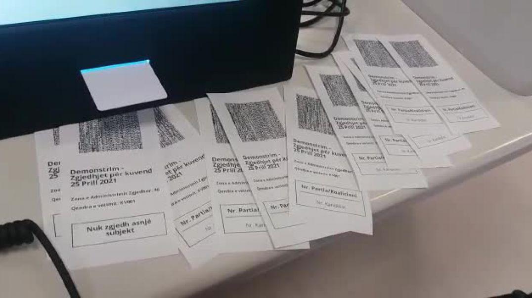 KQZ: Votimi elektronik në Tiranë dhe materialet zgjedhore në të gjithë vendin gati brenda të premtes