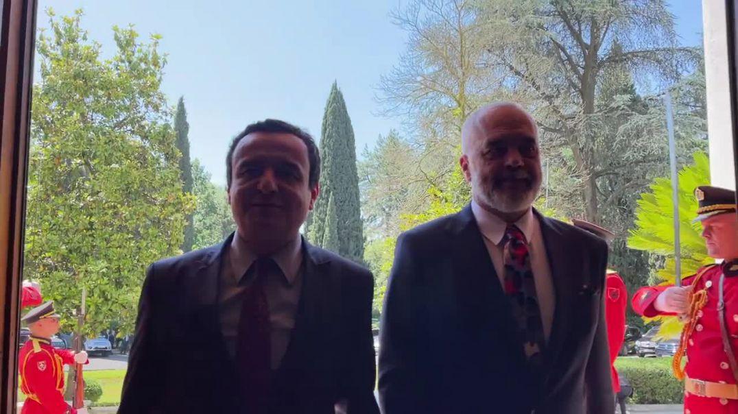 Rama pret Albin Kurtin për punimet e Samitit të udhëheqësve të rajonit