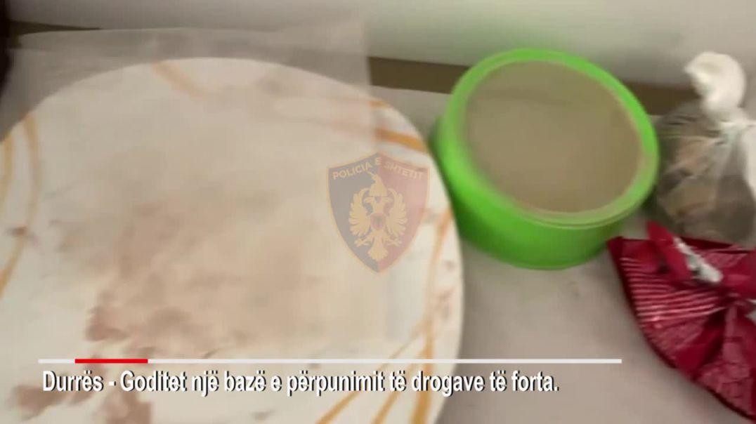 Zbulohet laboratori për përpunimin e heroinës dhe kokainës në Durrës