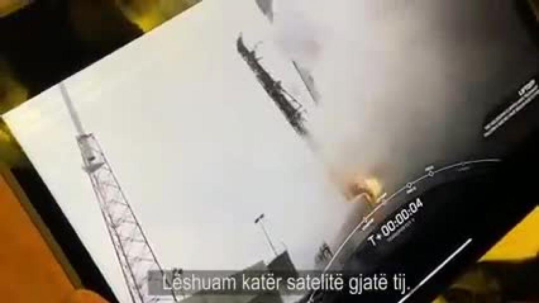 """Rama: """"Albania 1"""" lëshohet në hapësirë në muajin mars me Falcon 9"""